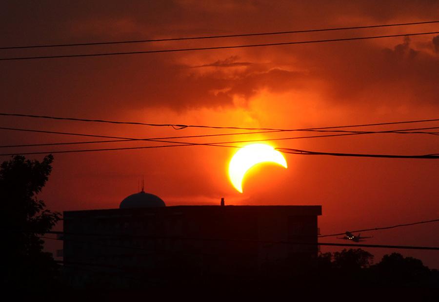 Consells per veure eclipsi solar